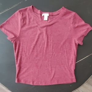 PLT Cropped Tee Shirt